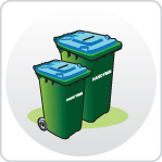2 Sizes Wheelie Bins